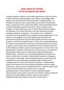 LEGA INTERROGAZIONE PD