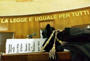 ITALY MAGISTRATES STRIKE
