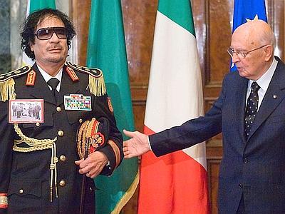 Napolitano-Gheddafi