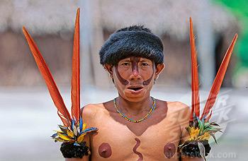 Venezuela, Indios Yanomami, Ironavi Trib