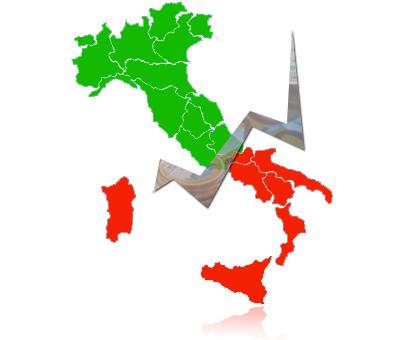 nord-sud italia