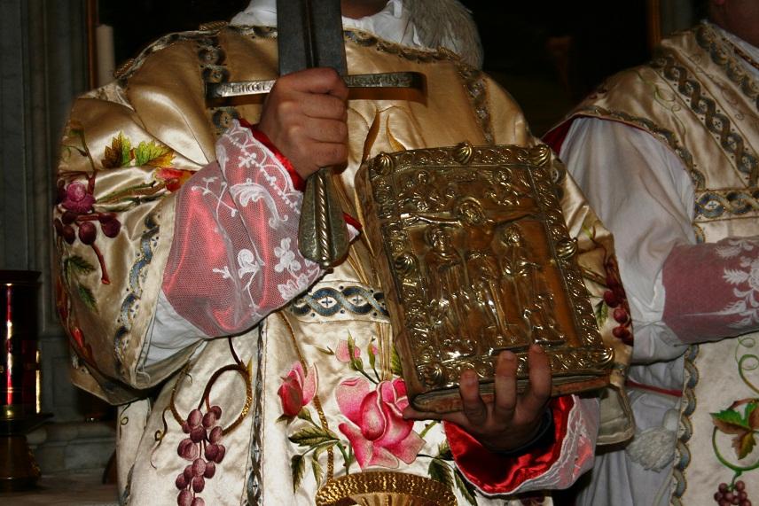 Cividale del Friuli - Evangeliario Messa dello Spadone
