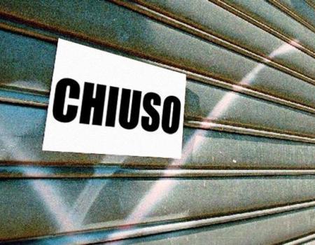 negozio chiuso