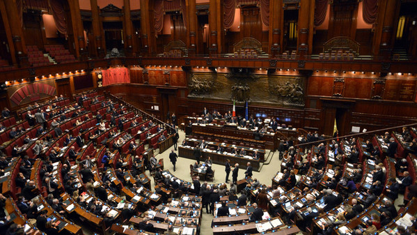 ITALY-POLITICS-LOWER HOUSE-VOTE