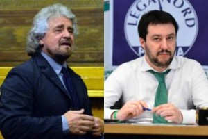 grillo salvini