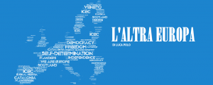 cover L'ALTRA EUROPA