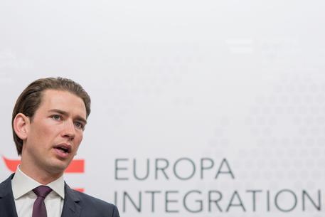 Greek Foreign Minister Nikos Kotzias in Vienna