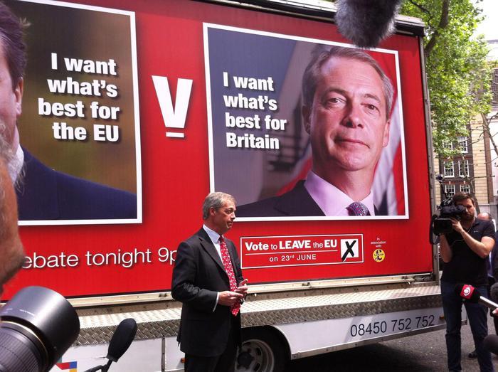 Roma: Farage, grande M5S, non potrei essere più felice