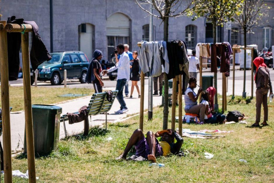 rifugiati milano
