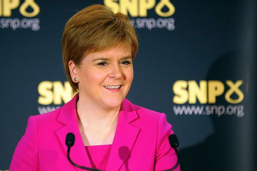 Scottish First Minister Nicola Sturgeon and leader of the Scottish National Party (SNP) speaks at a press conference in Stirling on September 2, 2016. Sturgeon launched a new survey on independence, saying the Brexit vote had changed the conditions that existed when Scotland voted against secession in 2014. / AFP PHOTO / Andy Buchanan