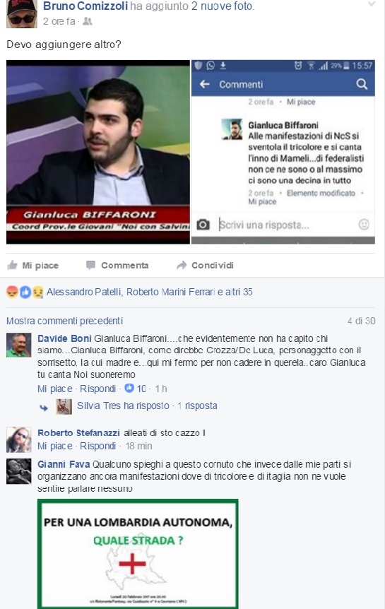 salvini bandiera