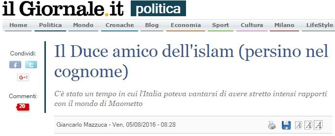 duce islam