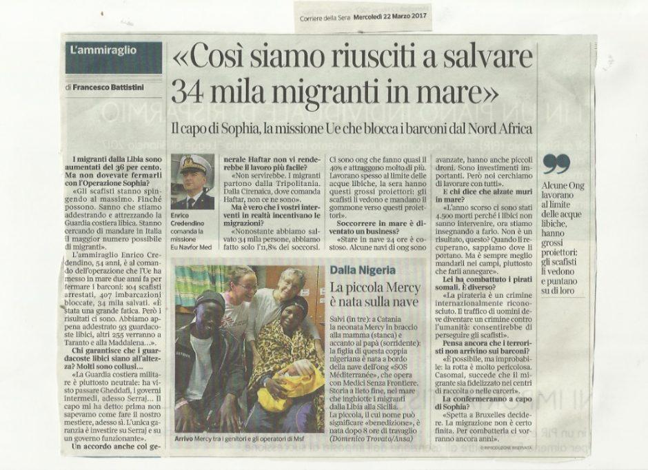 corriere migranti
