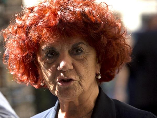 La vicepresidente del Senato, Valeria Fedeli, al suo arrivo alla riunione della direzione nazionale del Partito Democratico. Roma, 21 settembre 2015. ANSA/ CLAUDIO PERI