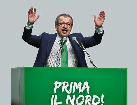 Stefano De Grandis/Lapresse Assago 01/07/12 Congresso federale lega nord elezione del segratrio Roberto Maroni