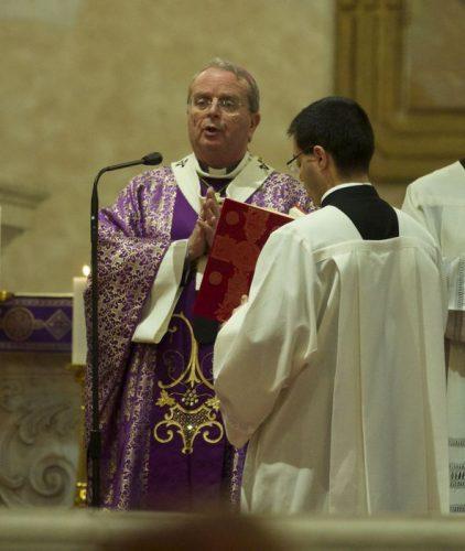 Chiesa: vescovo di Cagliari Arrigo Miglio