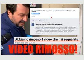 Salvini al citofono:legale ragazzo,Fb ha rimosso video - Credit: Facebook